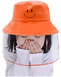 Kids Protective Hat Full Face Shield Bucket Hat