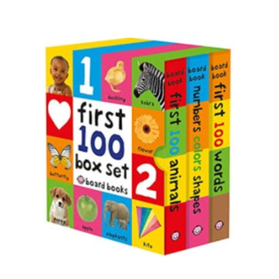 First-100-Words-Numbers-Colors-Shapes-and-First-100-Animals-Board-Book.